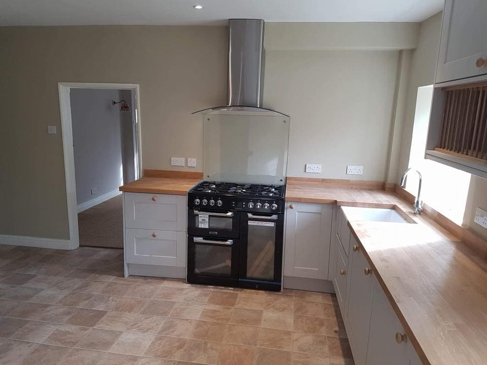 Malton Builders finish kitchen refurbishment